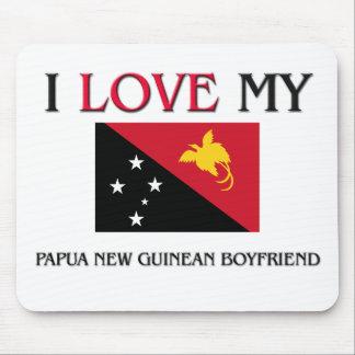 I Love My Papua New Guinean Boyfriend Mouse Mat