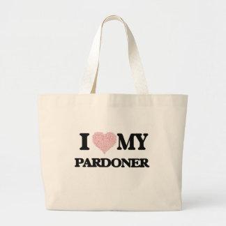 I love my Pardoner (Heart Made from Words) Jumbo Tote Bag