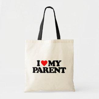 I LOVE MY PARENT BAGS