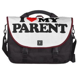 I LOVE MY PARENT COMPUTER BAG