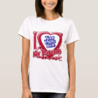 I Love My Parents red heart - photo T-Shirt