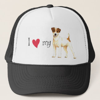 I Love my Parson Russell Terrier Trucker Hat