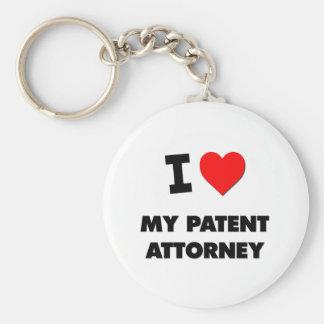 I love My Patent Attorney Key Ring