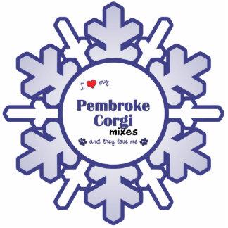 I Love My Pembroke Corgi Mixes (Multiple Dogs) Cut Out