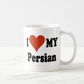 I Love My Persian Cat Coffee Mug