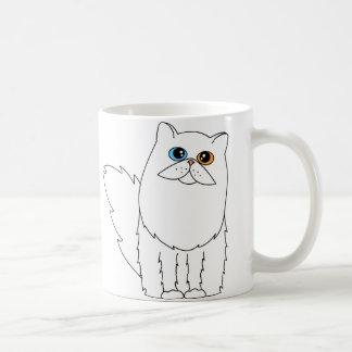 I Love My Persian Cat w/ Odd Eyes Coffee Mug
