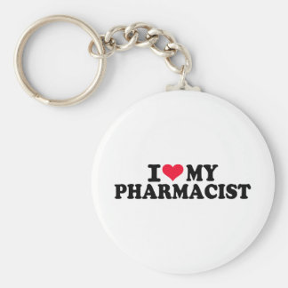 I love my Pharmacist Key Ring