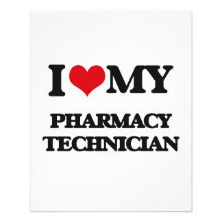 I love my Pharmacy Technician 11.5 Cm X 14 Cm Flyer