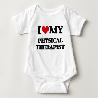 I love my Physical Therapist Baby Bodysuit