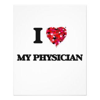 I Love My Physician 11.5 Cm X 14 Cm Flyer