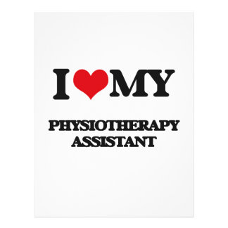 I love my Physiotherapy Assistant Flyer Design