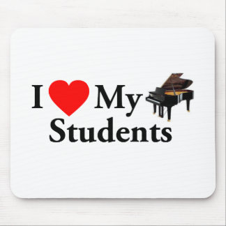 I Love My Piano Students Mouse Pad