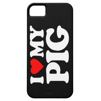 I LOVE MY PIG iPhone 5 CASES