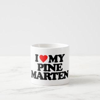 I LOVE MY PINE MARTEN ESPRESSO MUGS