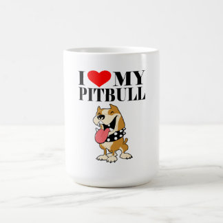 I Love My Pitbull - Mug
