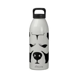 I LOVE MY PITBULL PIT BULL pet dog breed Drinking Bottle