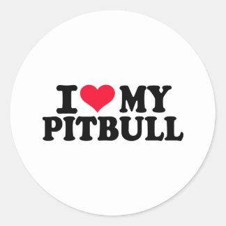 I love my Pitbull Stickers