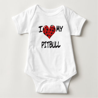 I love my Pitbull T Shirt
