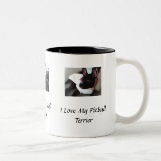 I love My Pitbull Terrier Mug