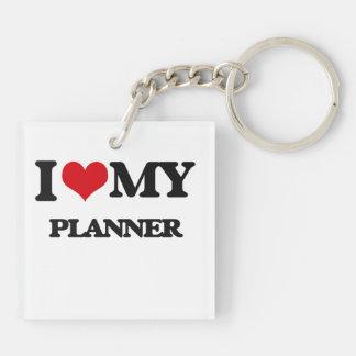 I love my Planner Acrylic Key Chains