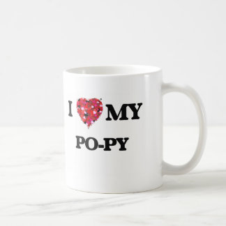 I love my Po-Py Basic White Mug