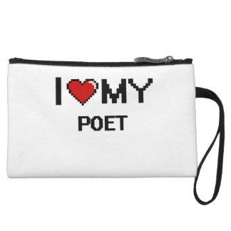 I love my Poet Wristlet Clutch