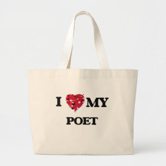I love my Poet Jumbo Tote Bag