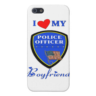 I Love My Police Boyfriend Case For The iPhone 5