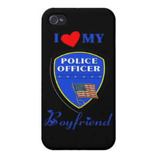 I Love My Police Boyfriend Covers For iPhone 4