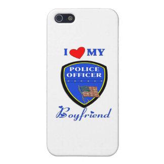 I Love My Police Boyfriend iPhone 5/5S Case