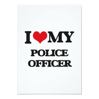 I love my Police Officer Card