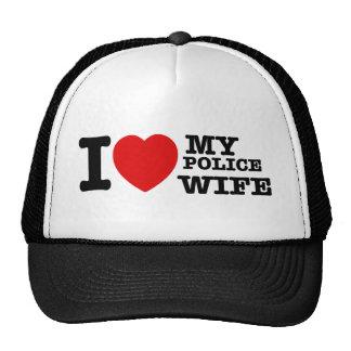 I love my Police wife Trucker Hat