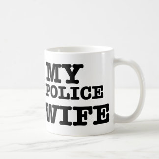 I love my Police wife Coffee Mugs
