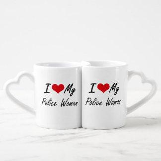 I love my Police Woman Lovers Mug