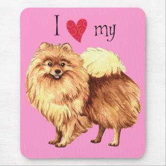 I Love my Pomeranian Mouse Mat