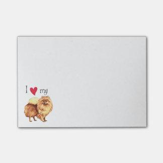I Love my Pomeranian Post-it® Notes