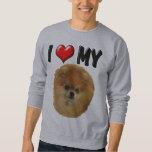 I Love My Pomeranian Sweatshirt