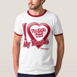 I Love My Ponies - Photo T-Shirt
