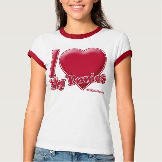 I Love My Ponies T-Shirt