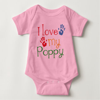 I Love My Poppy (Handprints) Tee Shirt