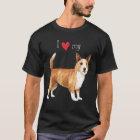 I Love my Portuguese Podengo Pequeno T-Shirt