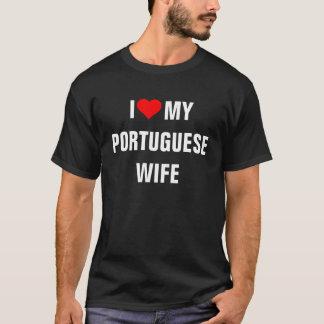 I Love My Portuguese Wife T-Shirt