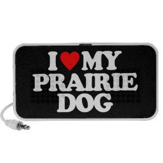 I LOVE MY PRAIRIE DOG MINI SPEAKERS