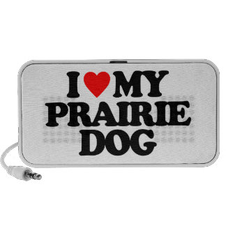 I LOVE MY PRAIRIE DOG MP3 SPEAKERS