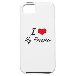 I Love My Preacher iPhone 5 Cases