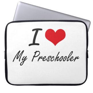 I Love My Preschooler Computer Sleeves