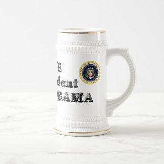 I LOVE My President BARACK OBAMA Commemorative Beer Steins