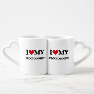 I love my Proctologist Lovers Mug Sets