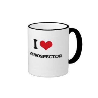I Love My Prospector Coffee Mugs