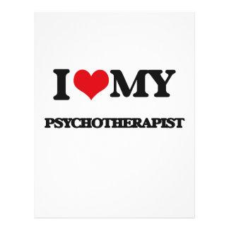 I love my Psychotherapist 21.5 Cm X 28 Cm Flyer